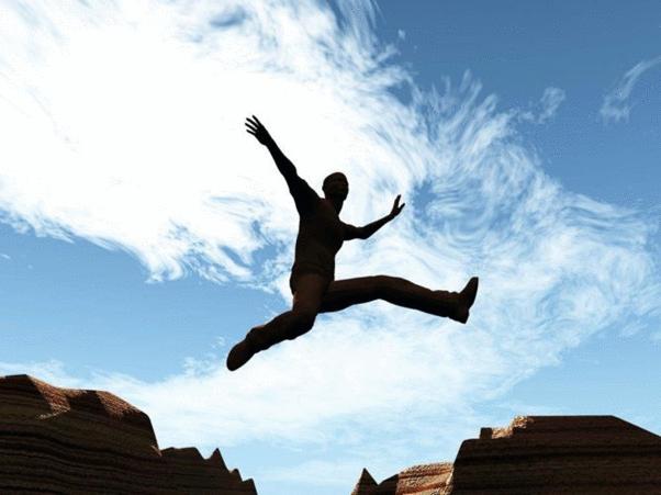 Para ter sucesso, é preciso ter coragem