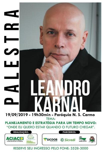 Leandro Karnal em Assis Chateaubriand-PR
