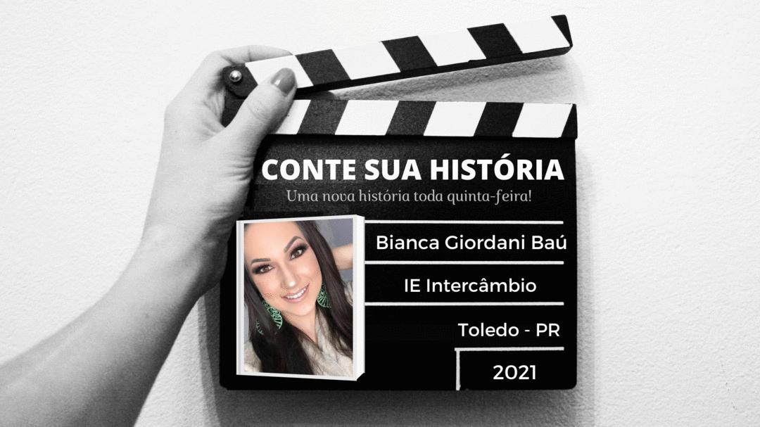 Empresária Bianca Giordani Baú no CONTE SUA HISTÓRIA!