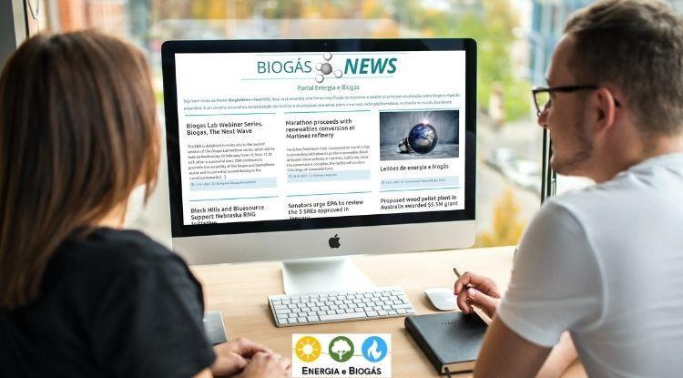 Painel BiogásNEWS - Portal Energia e Biogás