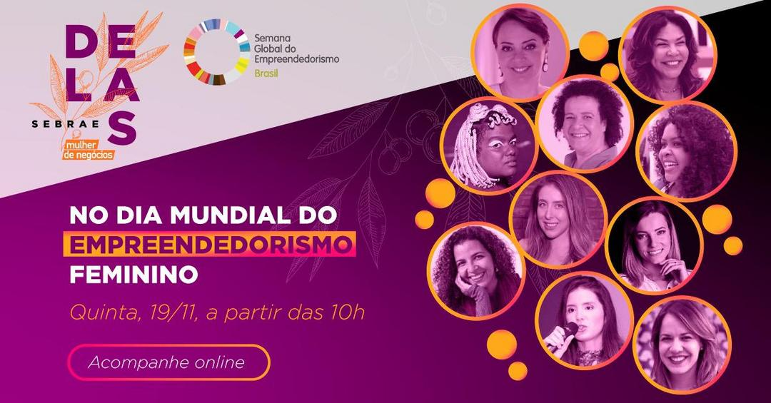 Dia Mundial do Empreendedorismo Feminino 19/11