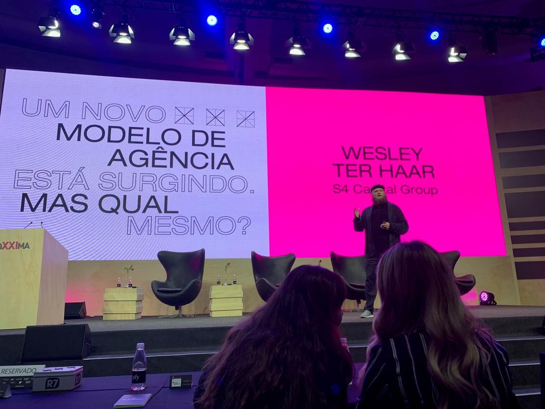 Wesley ter Haar: mídia e criação devem trabalhar juntos na era da transformação digital!