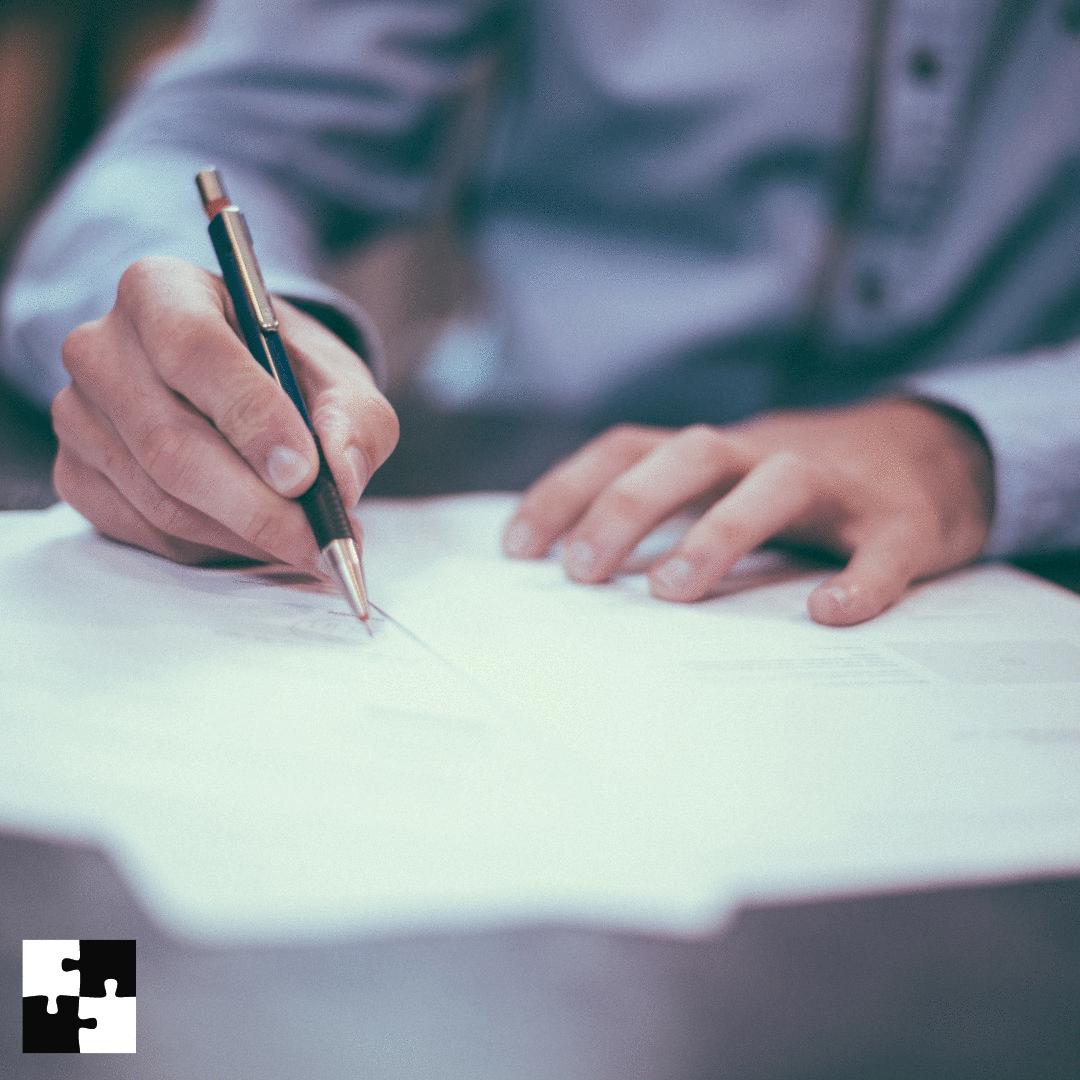 Como formalizar o contrato