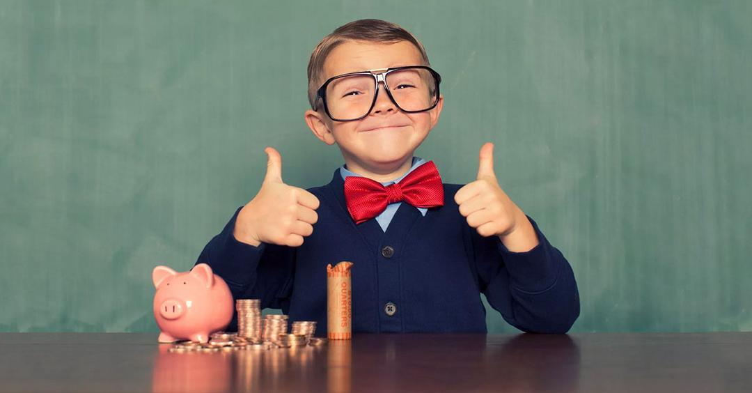 Crianças empreendedoras, adultos de sucesso
