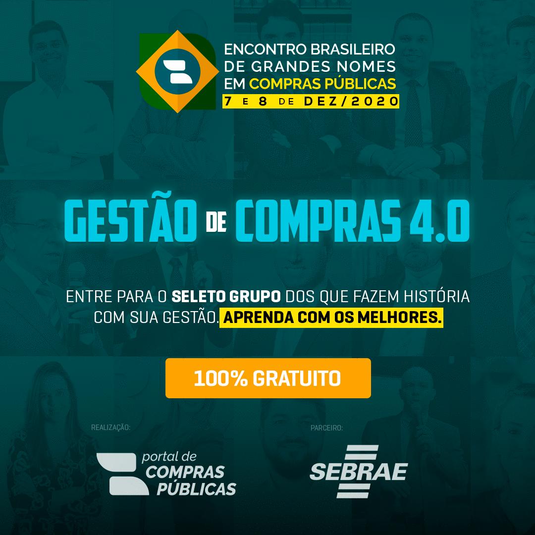ENCONTRO BRASILEIRO DE GRANDES NOMES EM COMPRAS PÚBLICAS