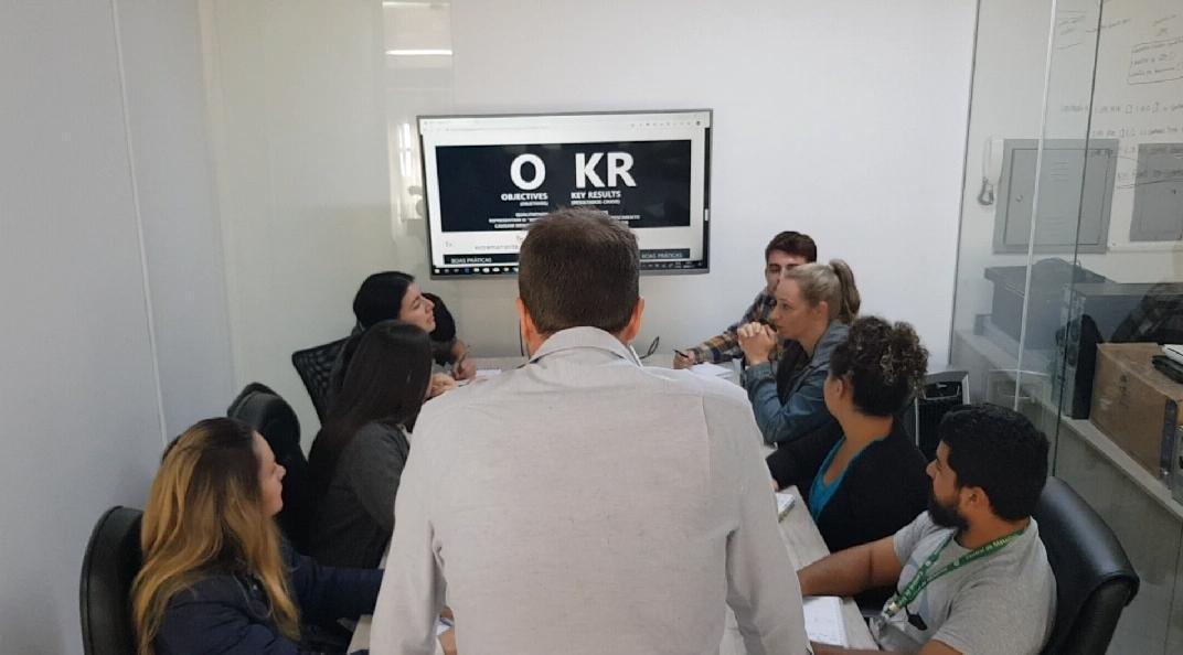 Implementação Metodologia OKR