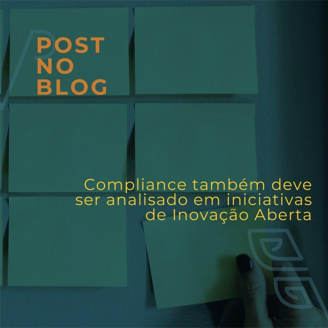Compliance em iniciativas de Inovação Aberta