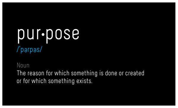 Você sabe o que, de fato, é propósito?