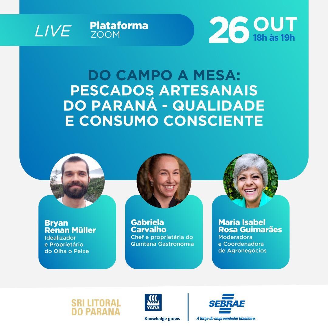 Pescados artesanais do Paraná - Qualidade e consumo consciente