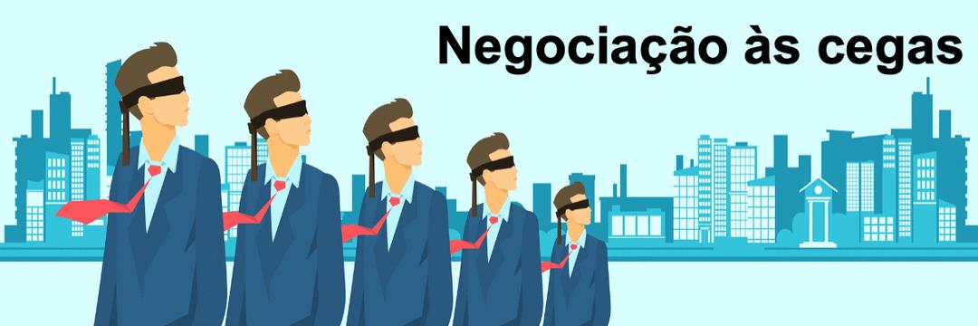 Negociação às cegas