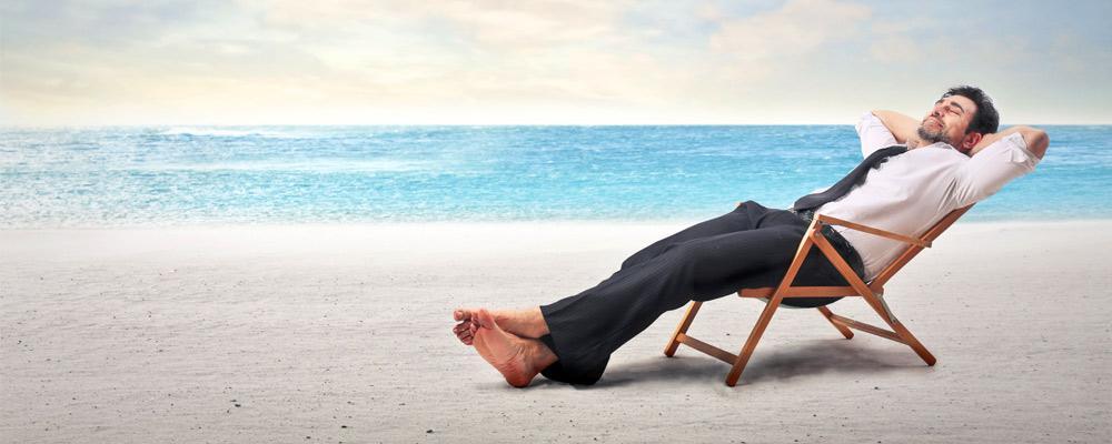 Descanso e gestão. Todo mundo precisa de férias, você também!