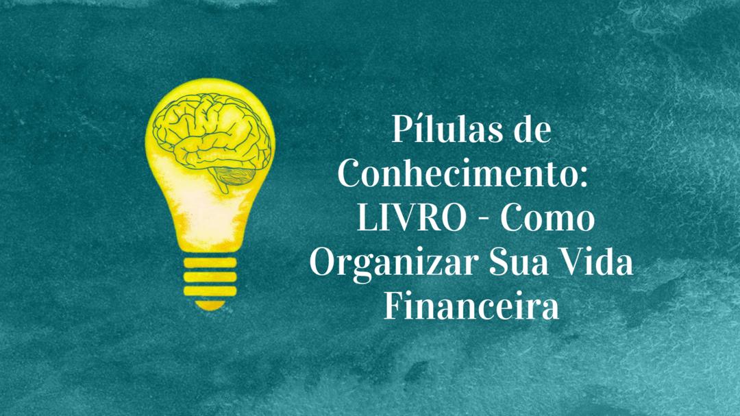 Pílulas de Conhecimento: LIVRO - Como Organizar Sua Vida Financeira