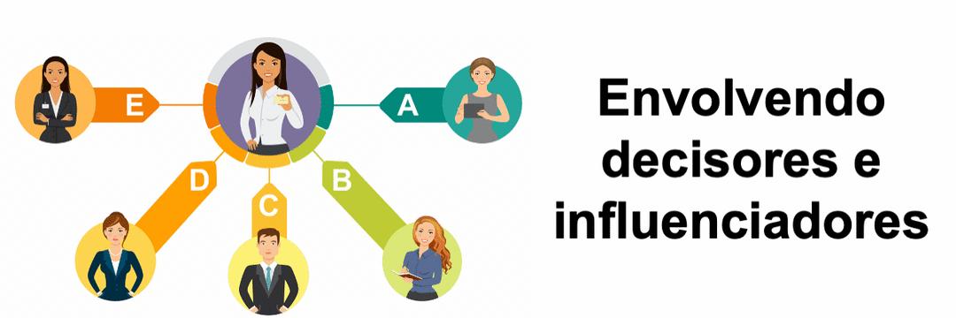 Envolvendo decisores e influenciadores