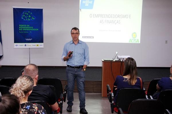 Palestra Lançamento do Curso de Gestão Financeira para micro e pequenas empresas