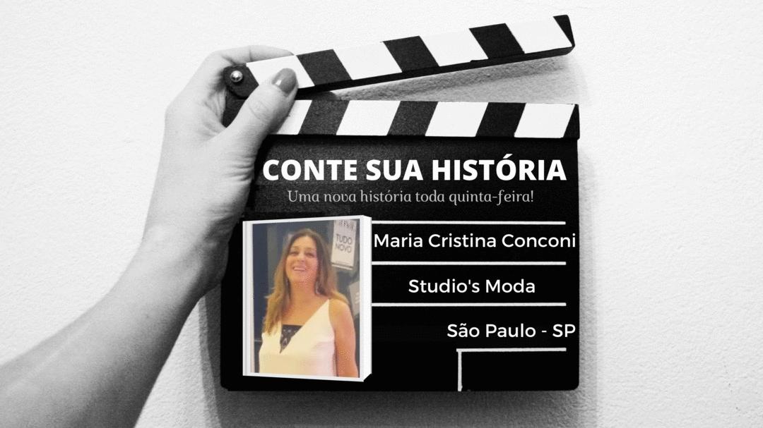 Empresária Maria Cristina Conconi  no CONTE SUA HISTÓRIA!