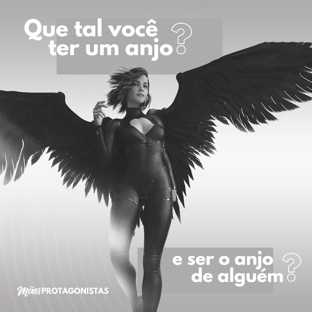 Black Friday - Que tal você ter um anjo e ser um anjo de alguém?