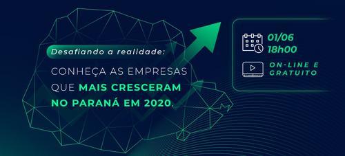 [Masterclass gratuita] Como as empresas que mais crescem no Paraná geram resultados