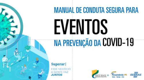 Manual de Conduta Segura para os Serviços de Eventos na Prevenção da COVID-19