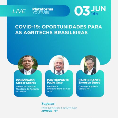 Oportunidades para as agritechs brasileiras