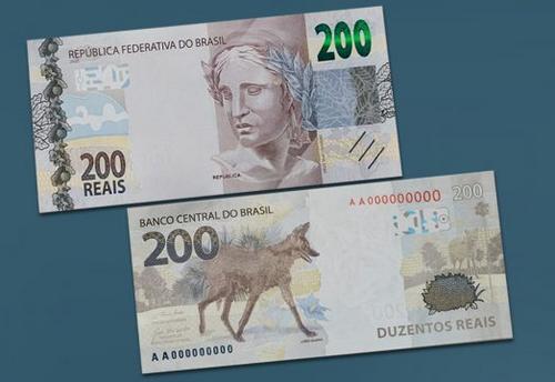 Banco Central lança nota de R$ 200,00 para circulação