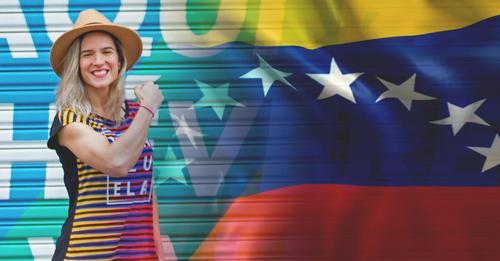 Paola, uma venezuelana que representa a força da mulher empreendedora