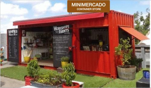 Minimercado - Contêiner Store