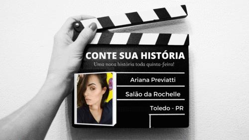 Empresária Ariana Previatti no CONTE SUA HISTÓRIA!