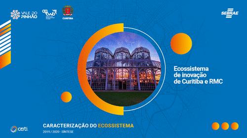 Síntese do Mapeamento do Ecossistema de Inovação de Curitiba e RMC