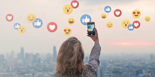 Você publica fotos e imagens que atraem clientes para relacionar e vender?