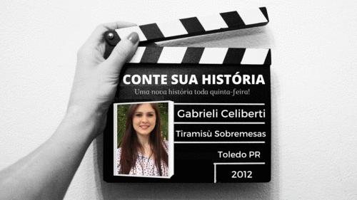 Empresária Gabrieli Celiberti no CONTE SUA HISTÓRIA!