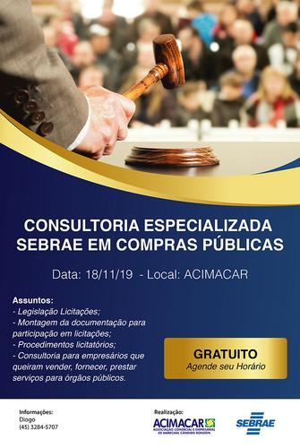 CONSULTORIA COMPRAS PÚBLICAS - PA MARECHAL CÂNDIDO RONDON