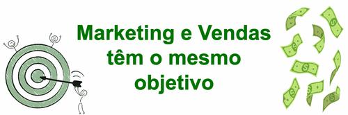 Marketing e vendas têm o mesmo objetivo