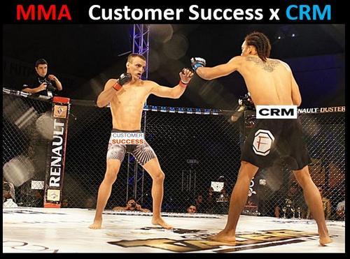MMA entre Customer Success e CRM