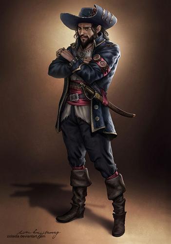 Era dourada pirataria e a lição de liderança