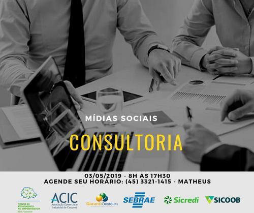 Consultoria Mídias Sociais