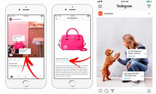 Instagram testa uma nova ferramenta de e-commerce
