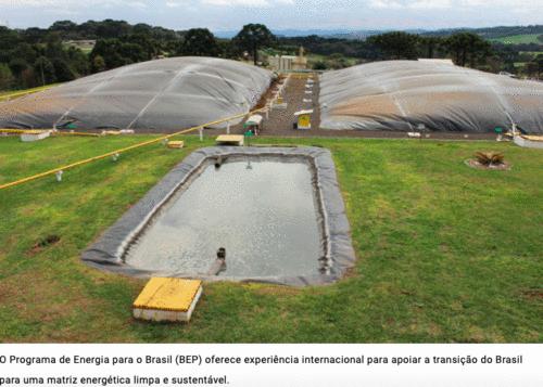Parceria entre o Programa de Energia para o Brasil (BEP) e Projeto GEF Biogás Brasil fomentam uso de biogás