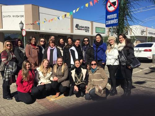 Empreendedoras de Irati-PR participam do Seminário Desafios do Crescimento na cidade de Ponta Grossa-PR