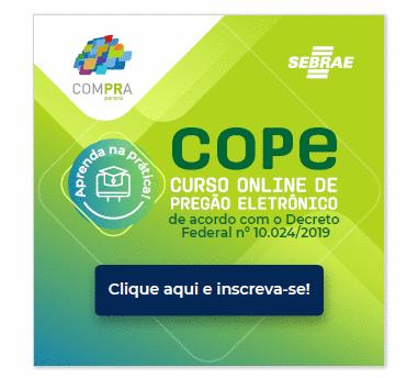 COPE  - Curso Online Pregão Eletrônico