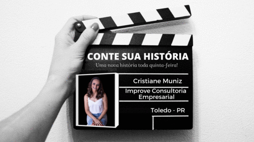 Empresária Cristiane Muniz no CONTE SUA HISTÓRIA!