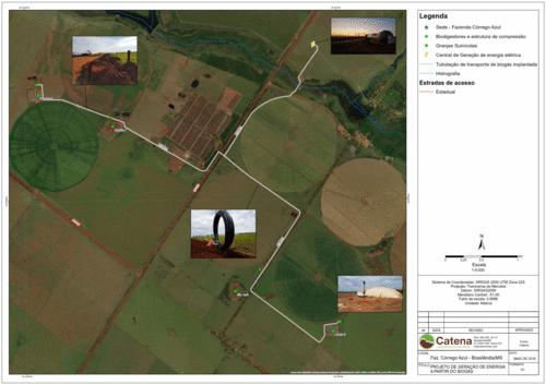 Planta de geração de energia elétrica a biogás gera economia em propriedade rural