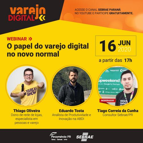 O Papel do Varejo Digital no Novo Normal