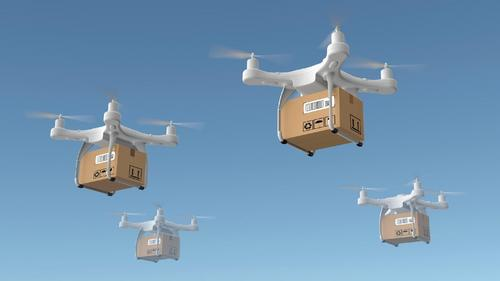 Drones para entrega. Será que esse modelo pega?