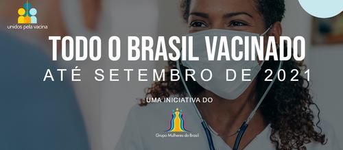 Luiza Trajano e seus esforços para ajudar na vacinação contra COVID-19 no país todo.