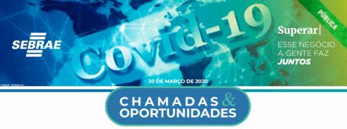 [Covid-19] Oportunidades através dos editais de inovação
