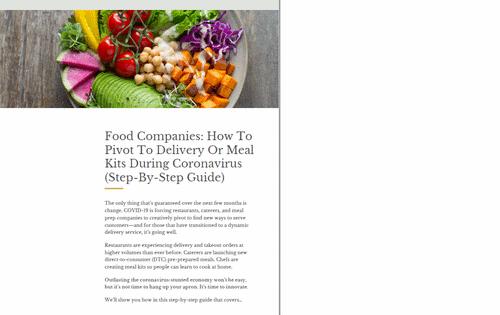 Delivery e take out. O setor de food service exige uma resposta rápida dos empresários