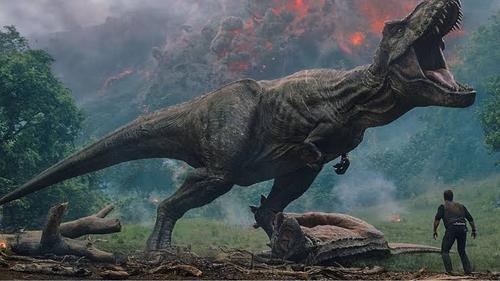 Os dinossauros não deixam