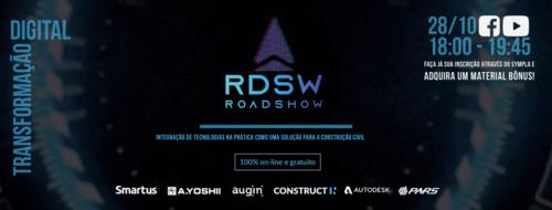 Roadshow de Transformação Digital na construção tem sua quarta edição 100% online