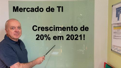 Rumo aos 20% de crescimento em TI
