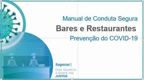 [Manual] Conduta Segura para Bares e Restaurantes na Prevenção da COVID-19